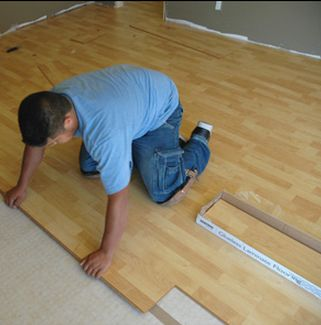 We Can Replace Your Damaged Floors With New Laminate Floor